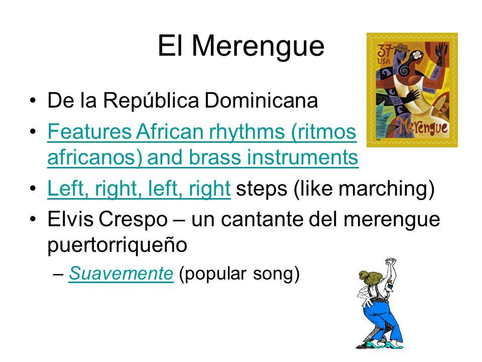 El Merengue De la República Dominicana