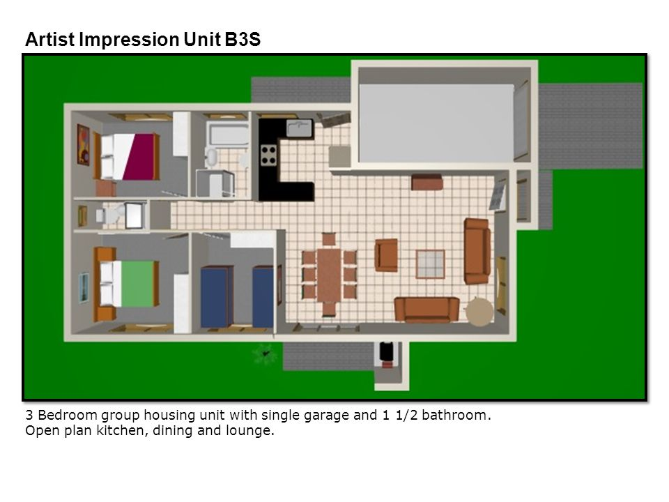 Artist Impression Unit B3S