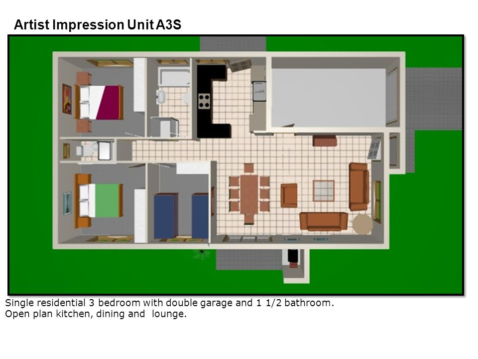 Artist Impression Unit A3S