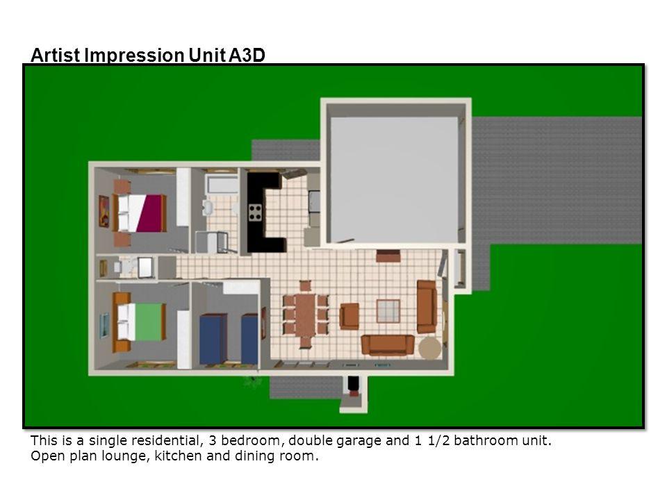 Artist Impression Unit A3D