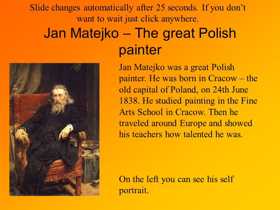 Jan Matejko – The great Polish painter