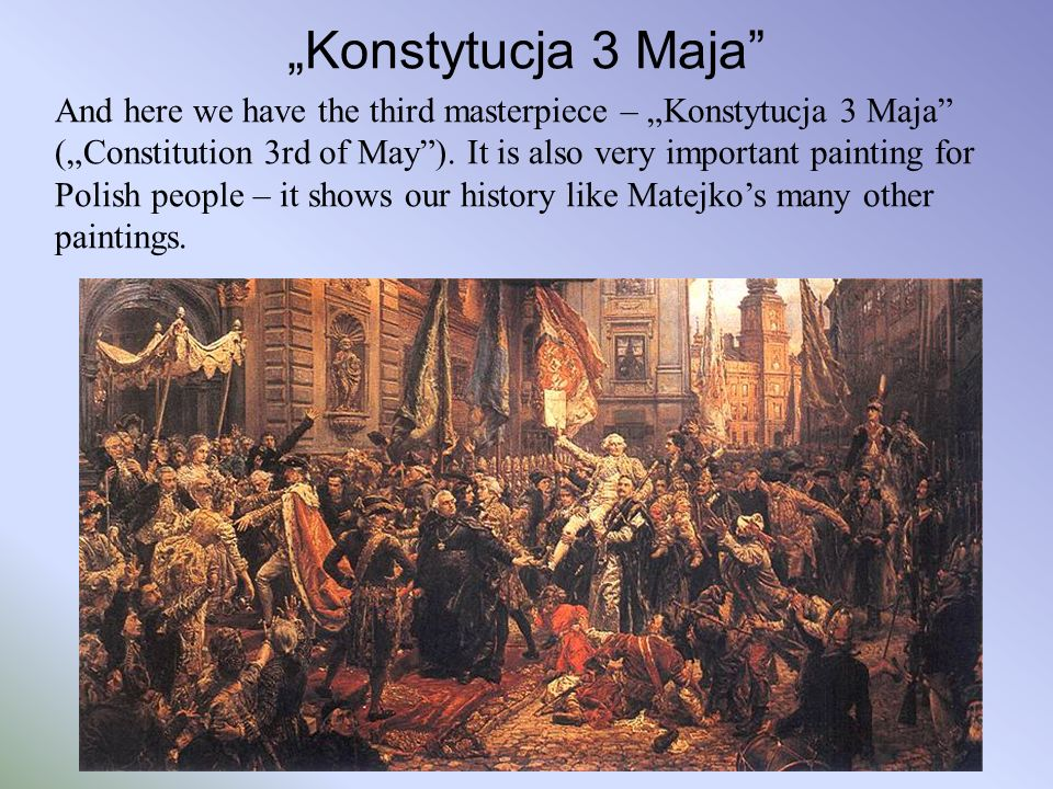 """Konstytucja 3 Maja"