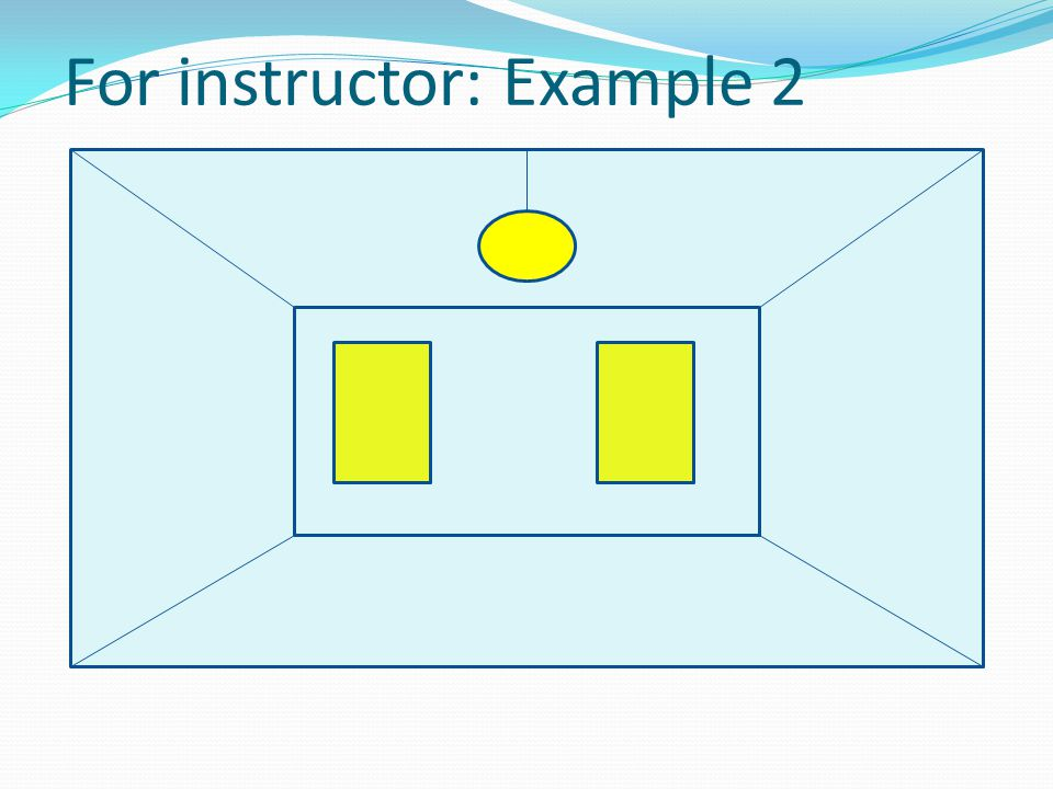 For instructor: Example 2