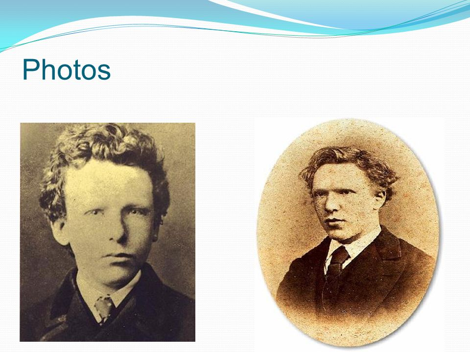 Photos Only 4 photos known to exist of Van Gogh! Here are 2.