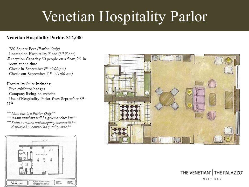 Venetian Hospitality Parlor
