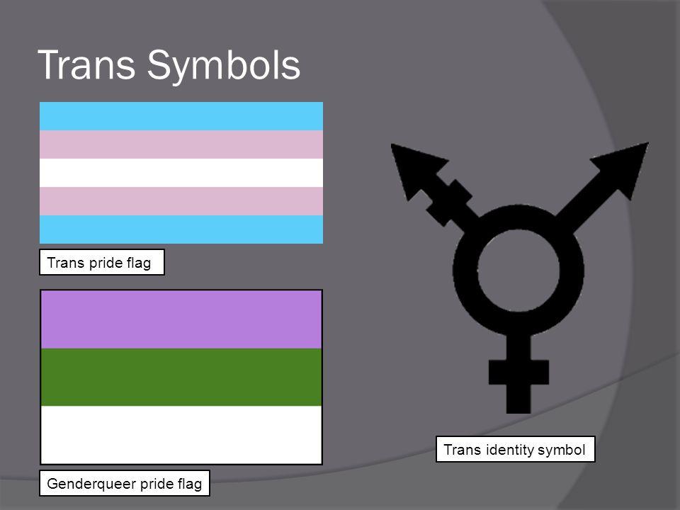 Trans Symbols Trans pride flag Trans identity symbol