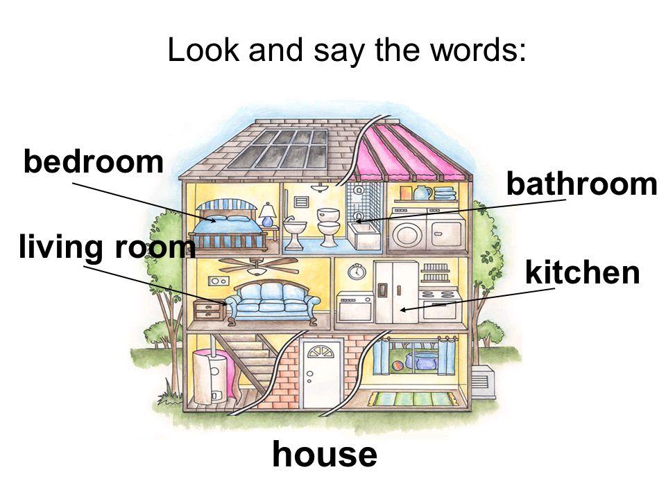 bedroom bathroom kitchen house