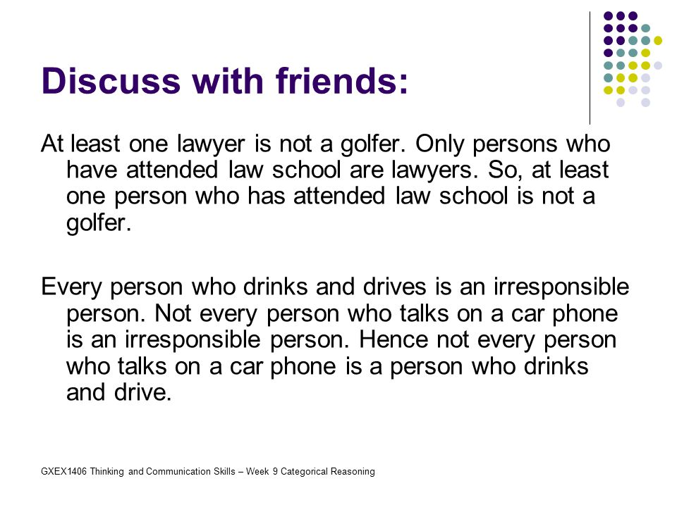 Discuss with friends: