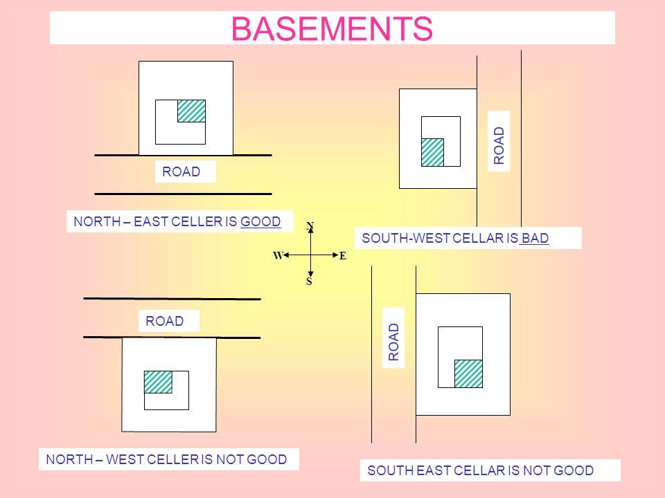 BASEMENTS ROAD ROAD NORTH – EAST CELLER IS GOOD