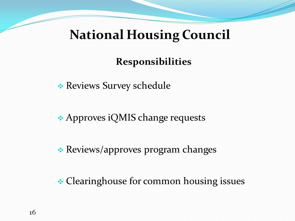 National Housing Council