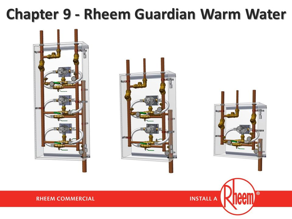 Chapter 9 - Rheem Guardian Warm Water