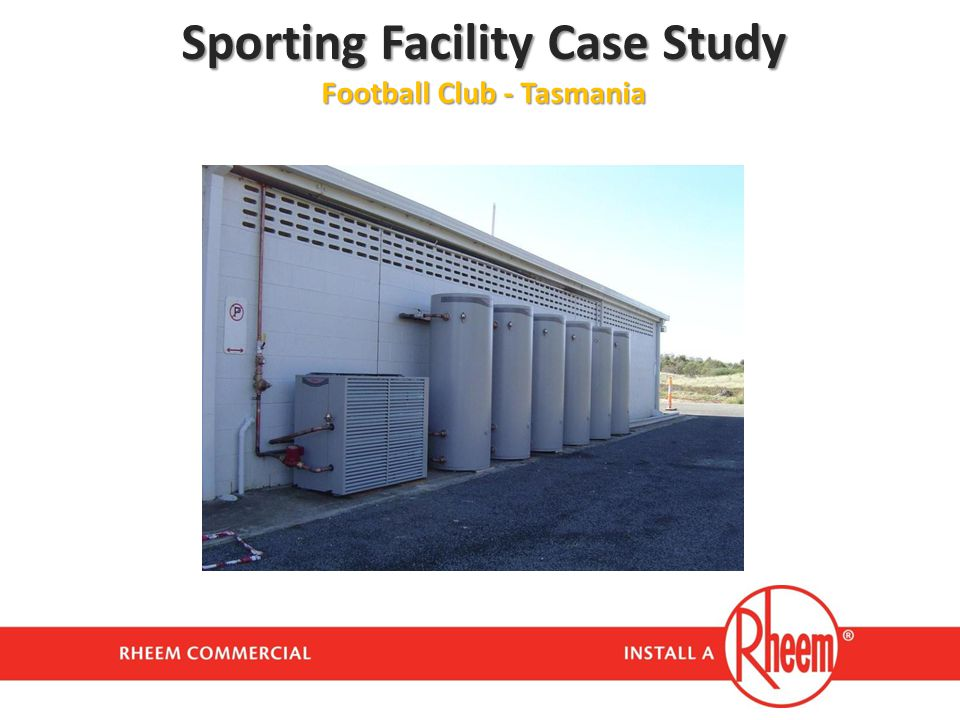 Sporting Facility Case Study Football Club - Tasmania