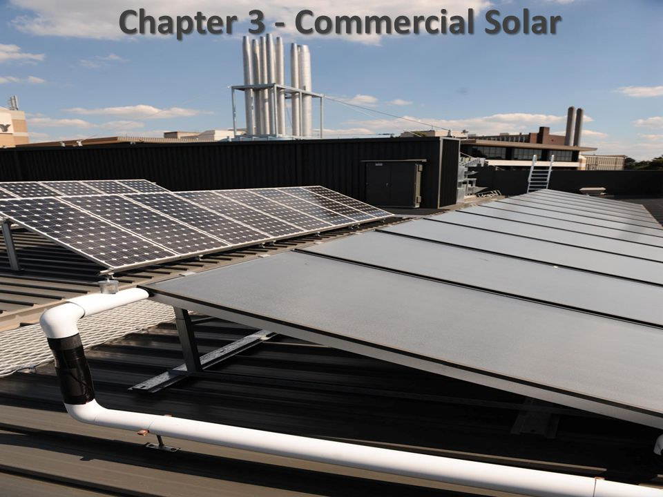 Chapter 3 - Commercial Solar
