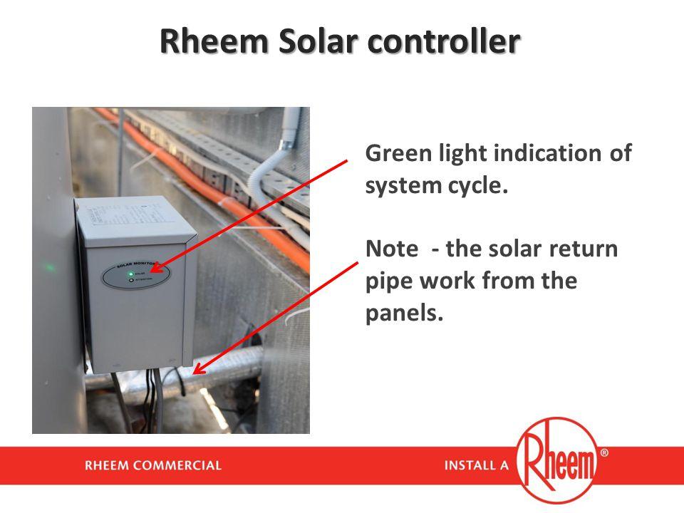 Rheem Solar controller