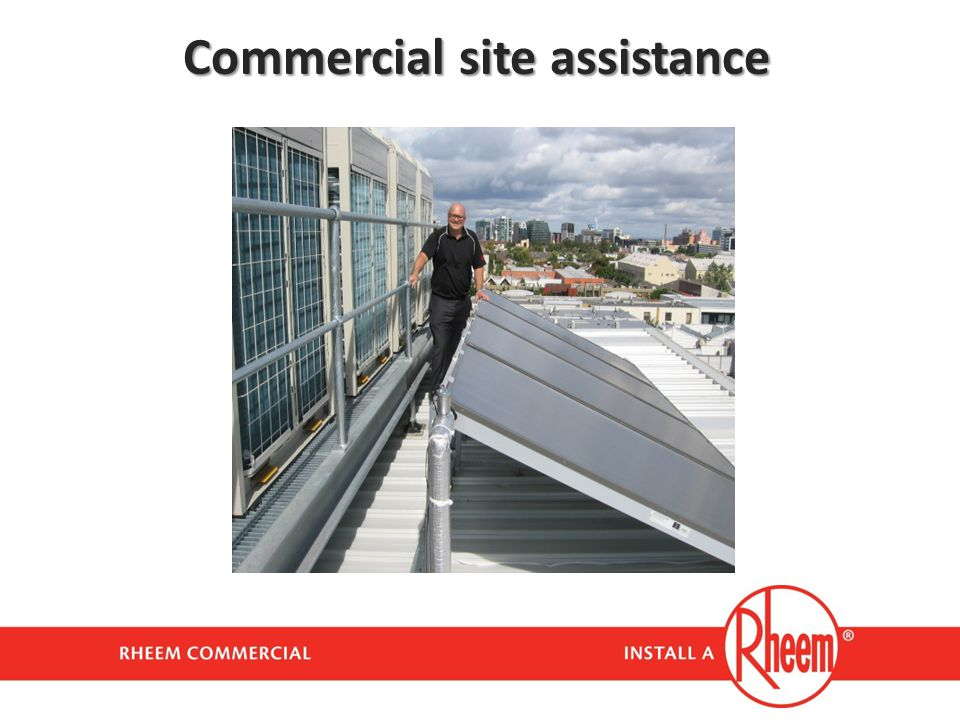 Commercial site assistance