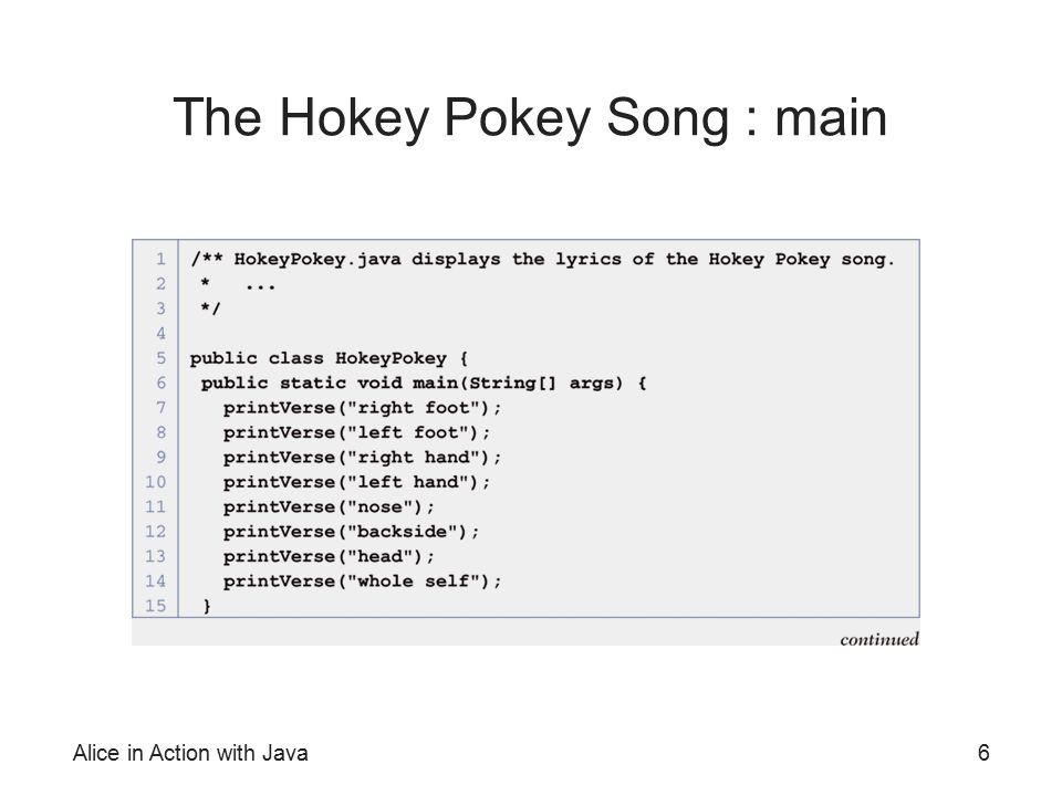 The Hokey Pokey Song : main