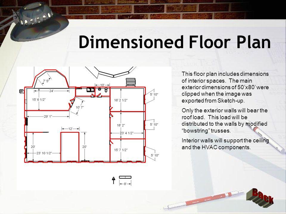 Dimensioned Floor Plan