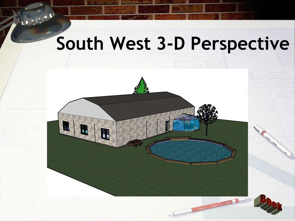 South West 3-D Perspective