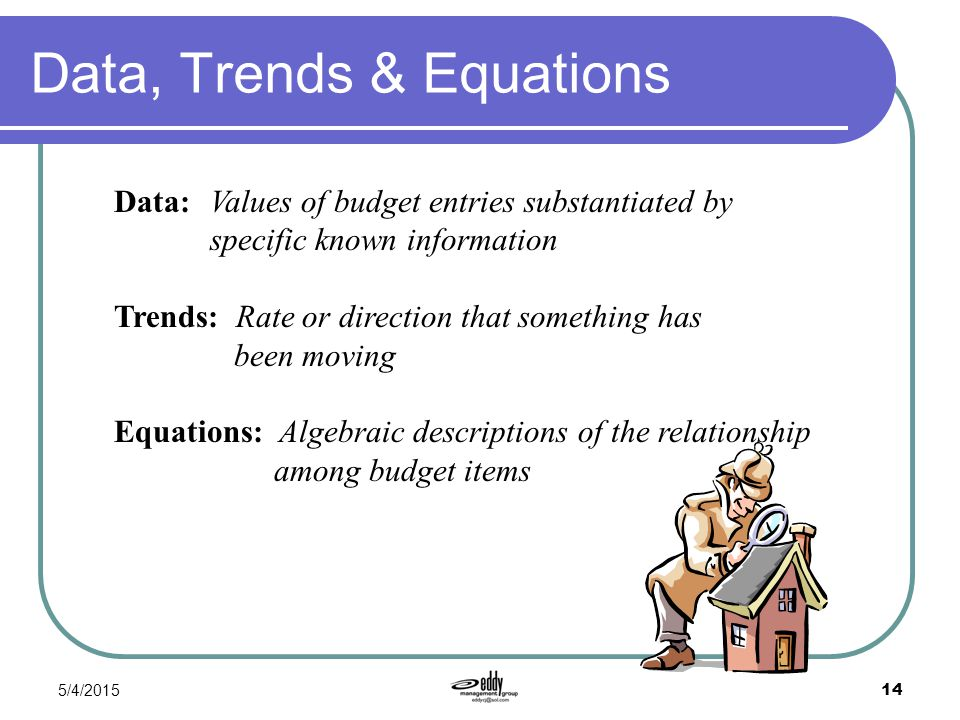 Data, Trends & Equations