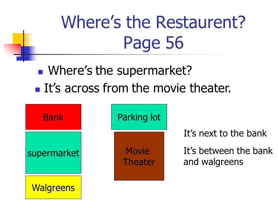 Where's the Restaurent Page 56