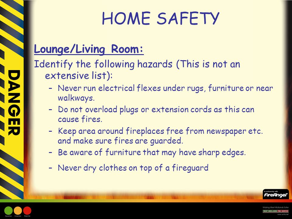 HOME SAFETY.