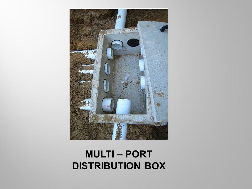 MULTI – PORT DISTRIBUTION BOX