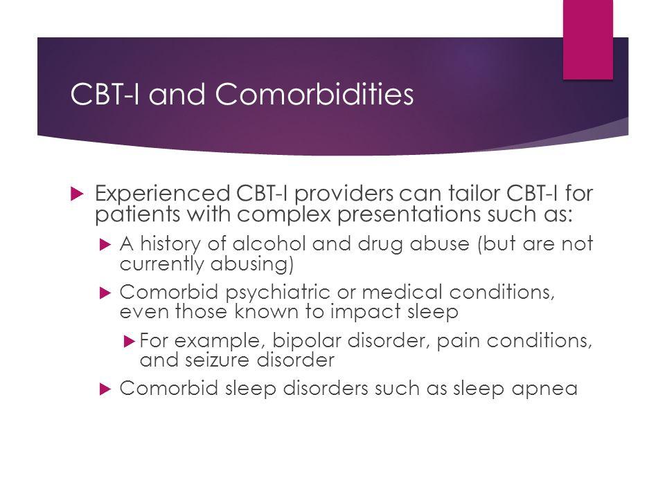 CBT-I and Comorbidities