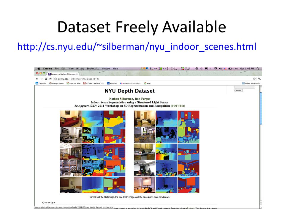 Dataset Freely Available