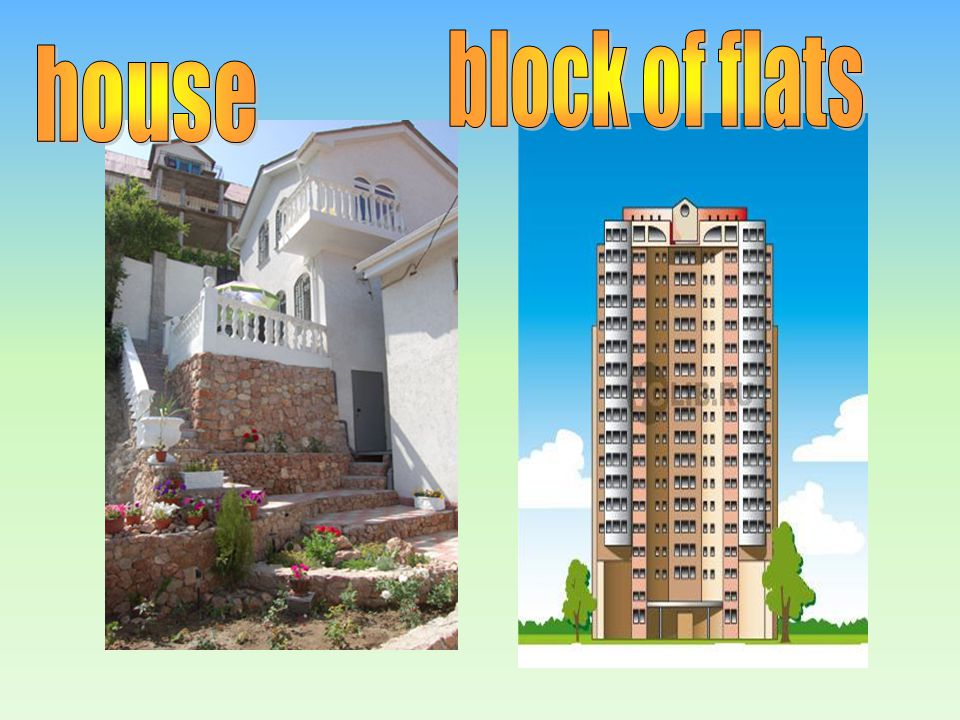 block of flats house