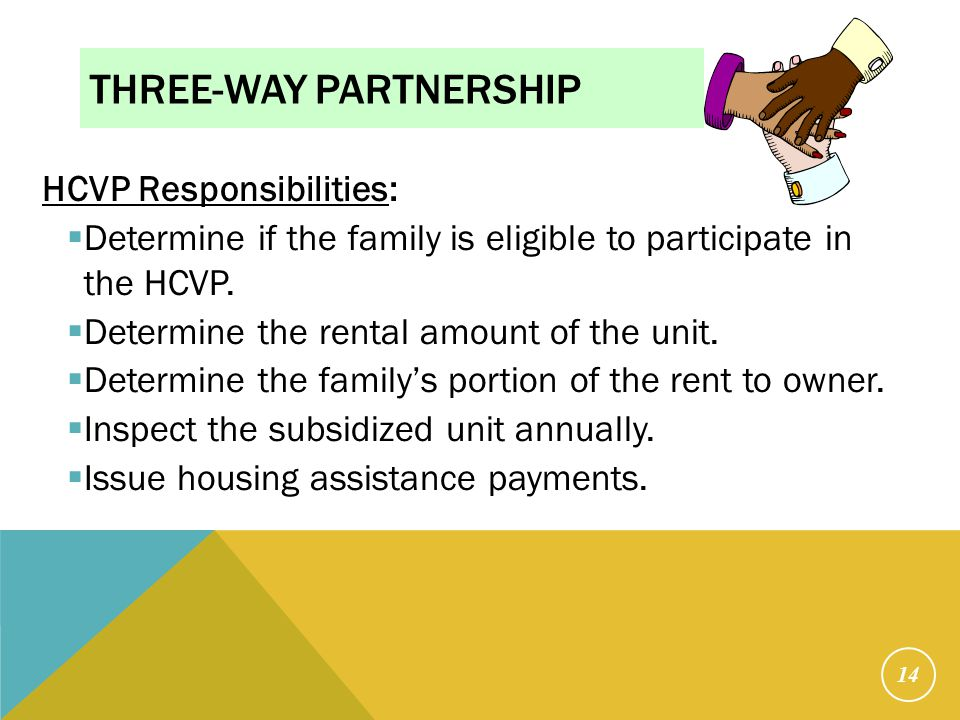 Three-Way Partnership Cont.