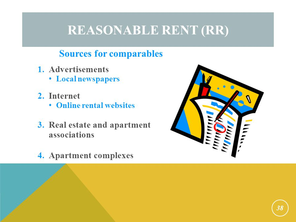 Reasonable Rent 24 CFR §982.507 PHA must determine if rent is reasonable before lease approval. Must be re-determined: