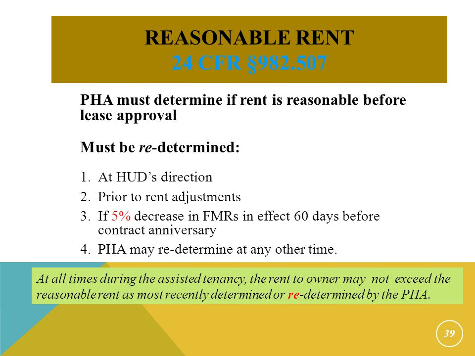 Rent to Owner PLUS Tenant-paid utilities