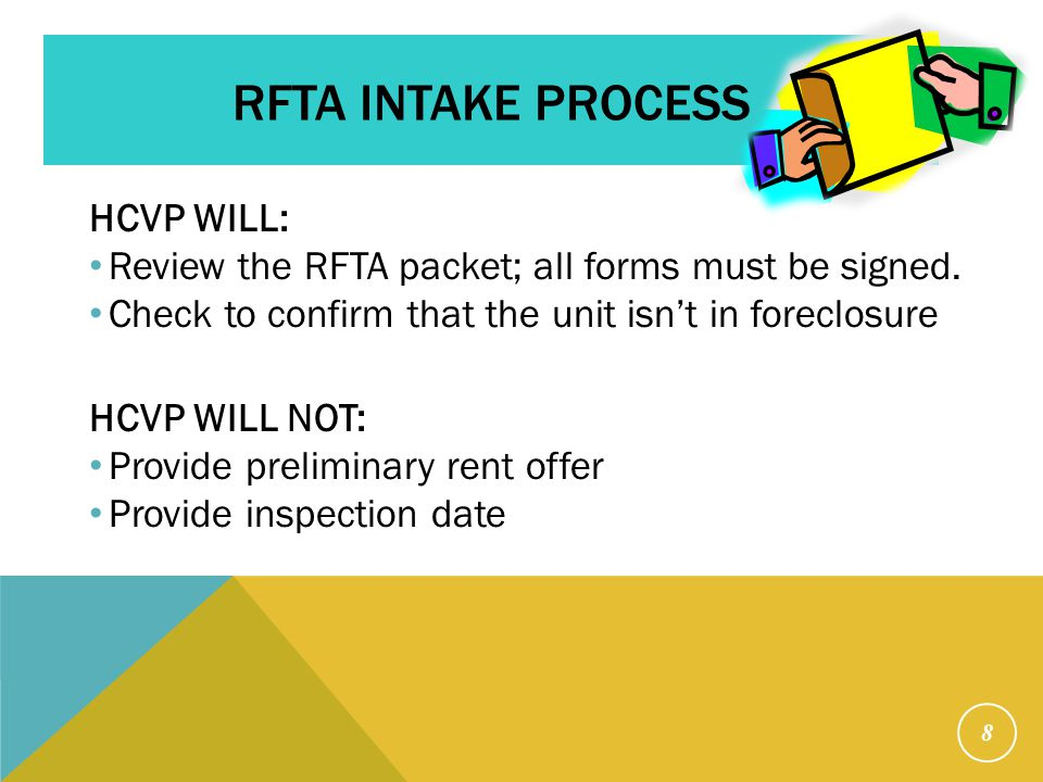 Important Facts: Submitting multiple RFTA packets