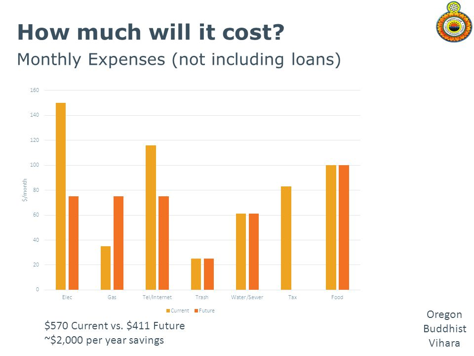 How much will it cost Monthly Expenses (not including loans)