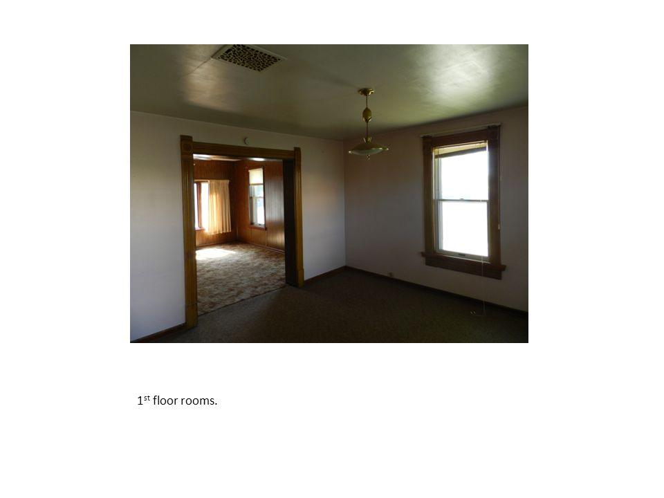 1st floor rooms.