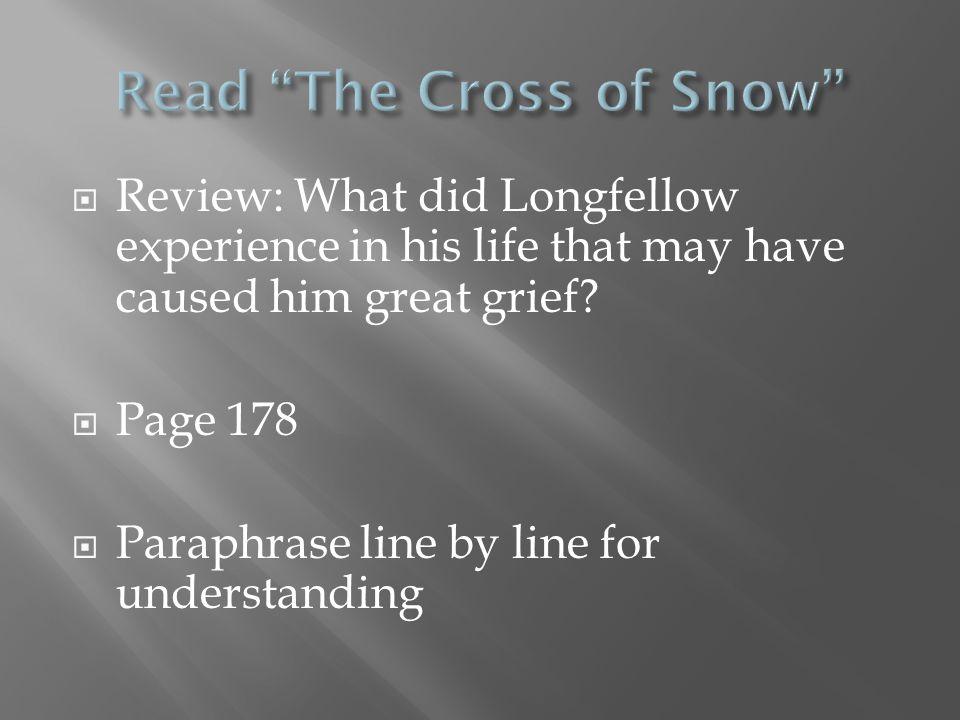 Read The Cross of Snow
