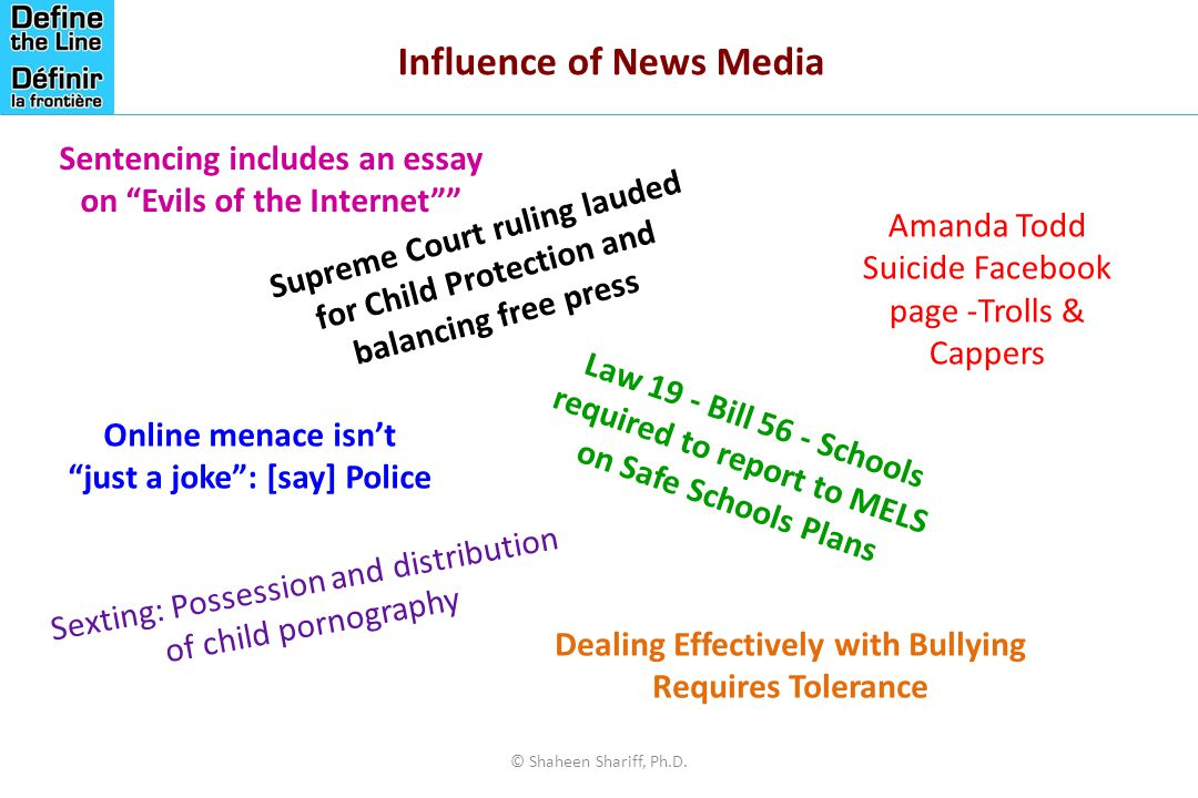 Influence of News Media