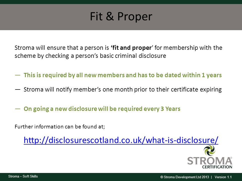 Fit & Proper http://disclosurescotland.co.uk/what-is-disclosure/