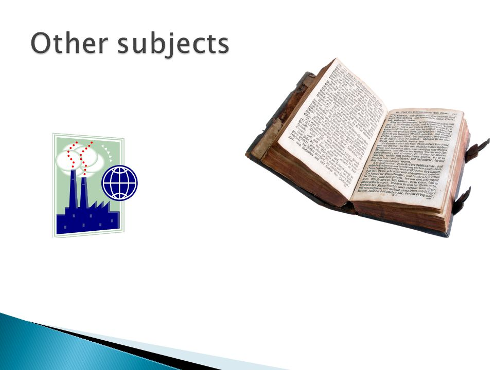 Other subjects