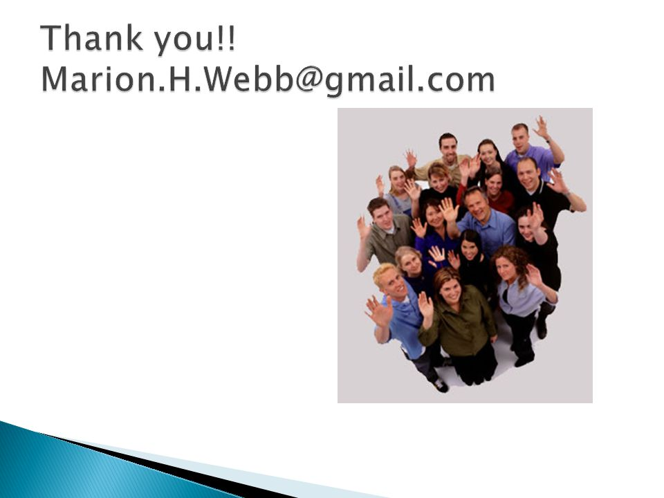 Thank you!! Marion.H.Webb@gmail.com