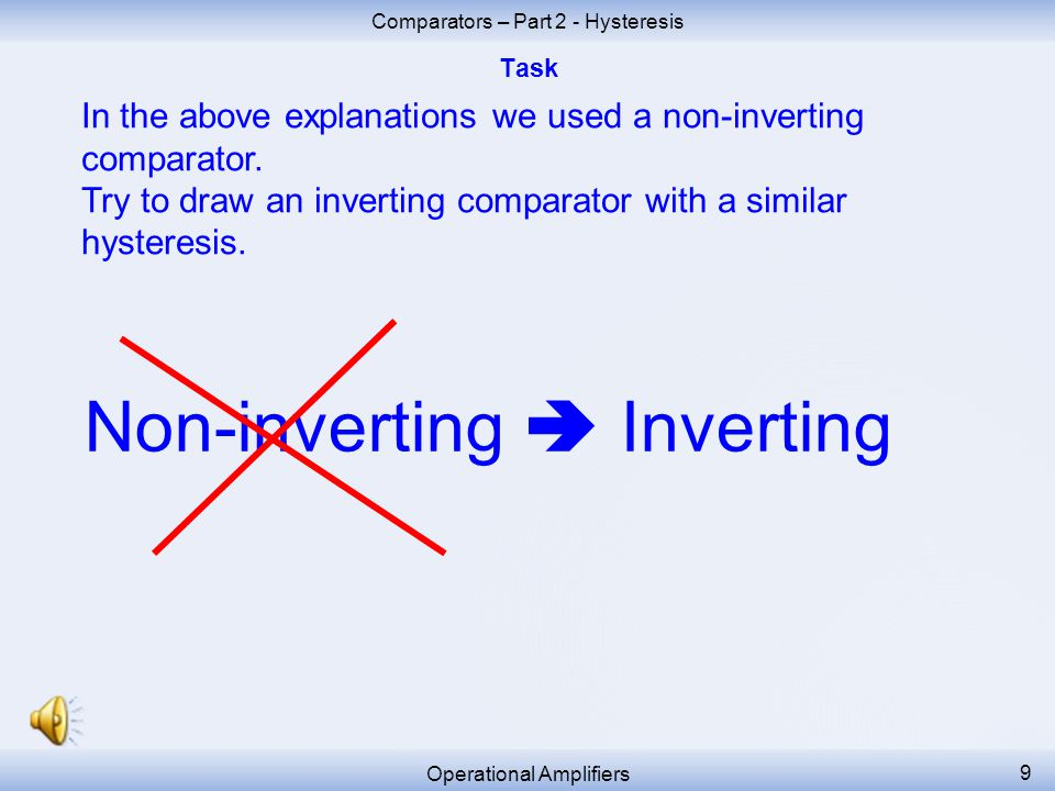 Non-inverting  Inverting