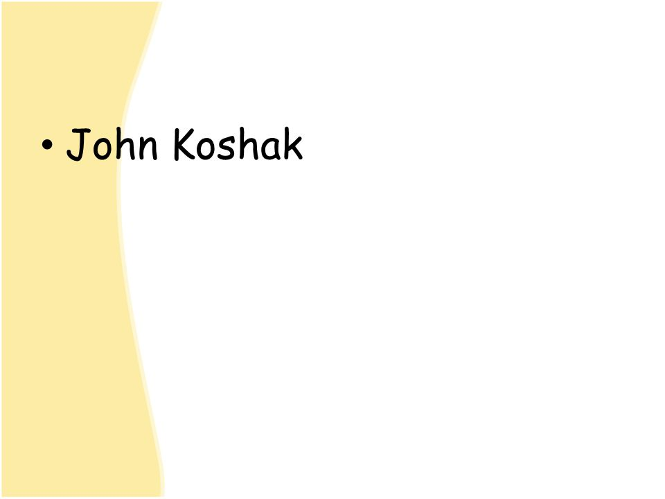 John Koshak