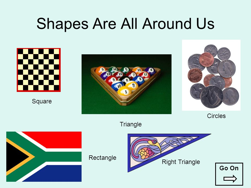 Shapes Are All Around Us