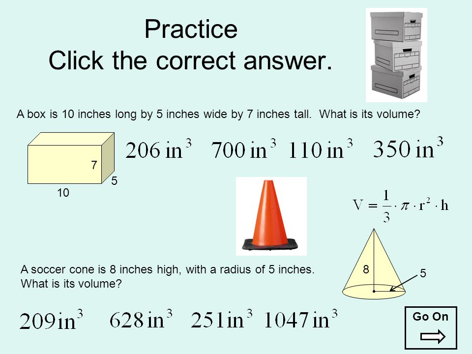 Practice Click the correct answer.