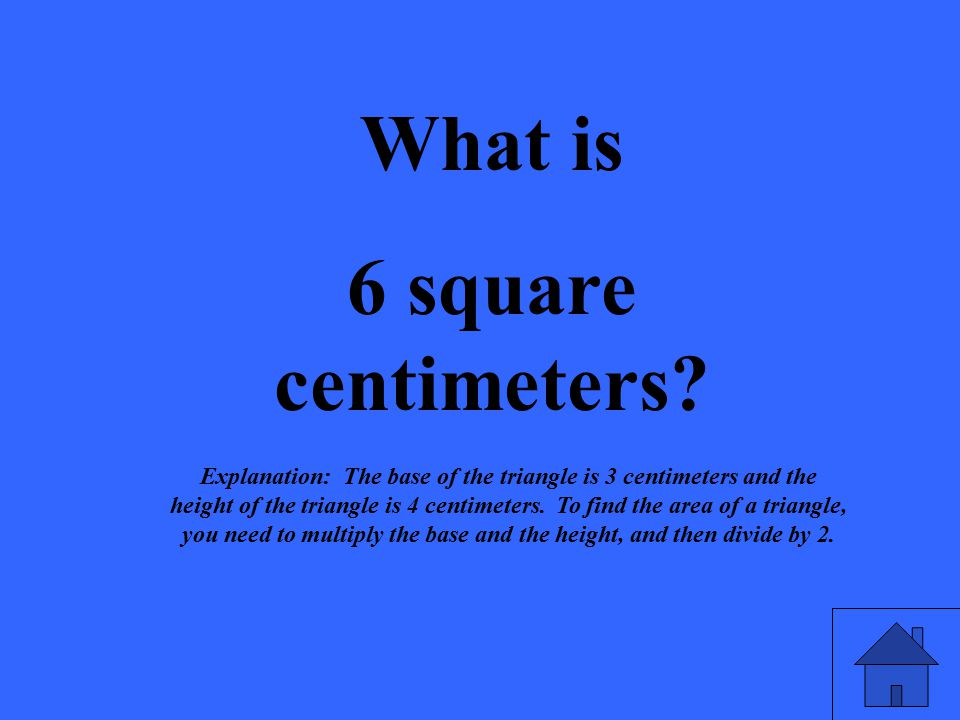 What is 6 square centimeters