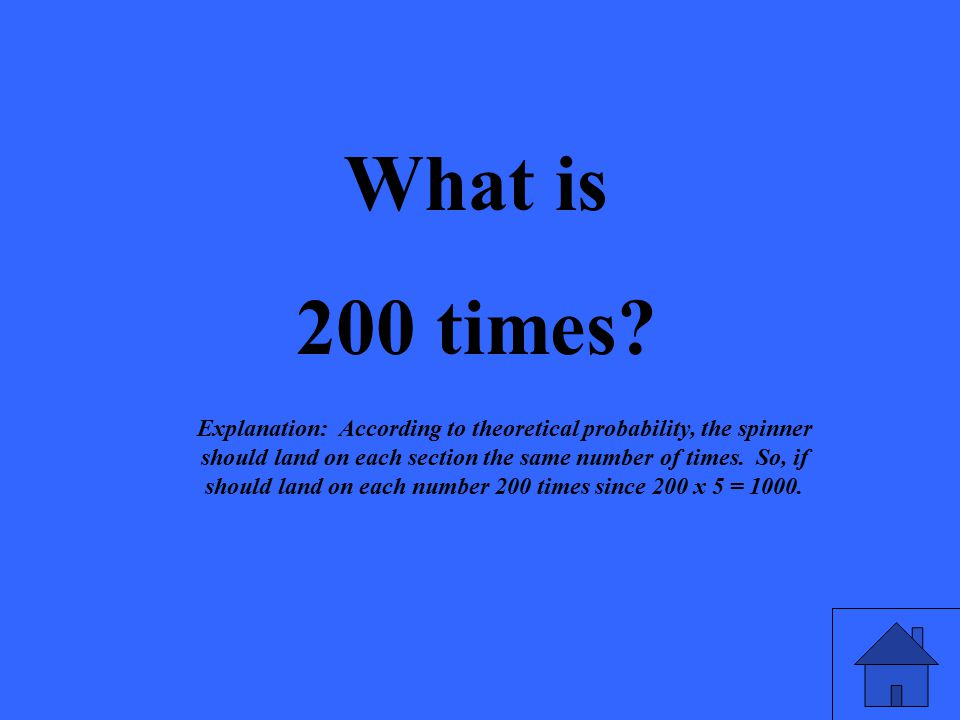 What is 200 times