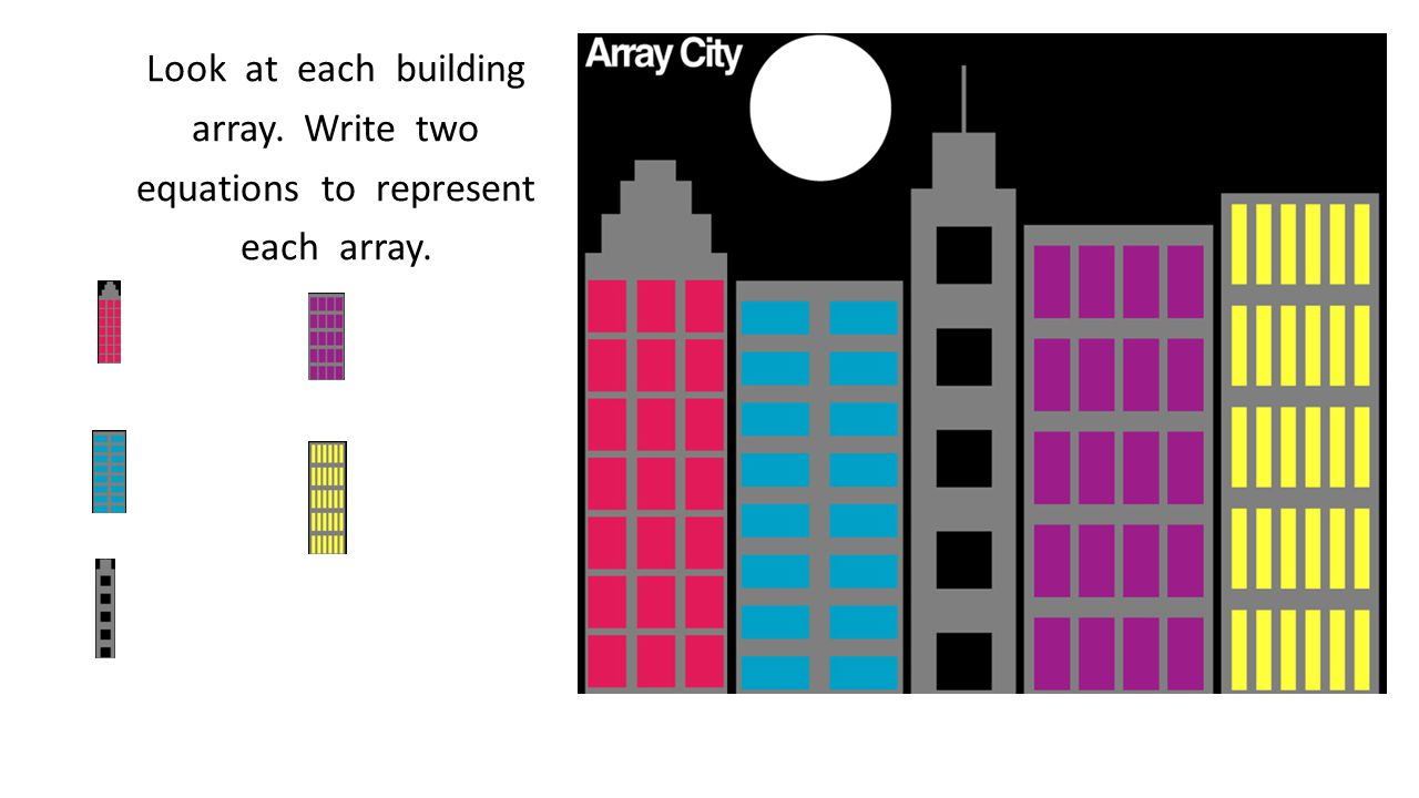 Look at each building array