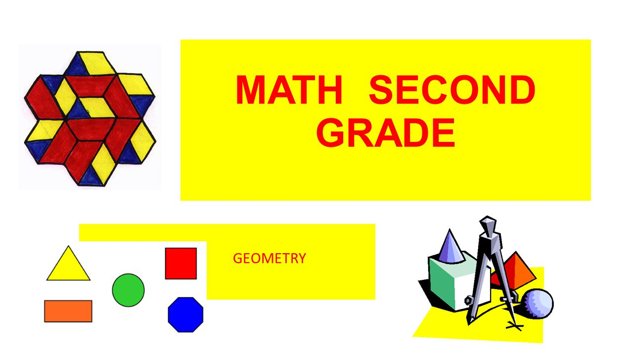 MATH SECOND GRADE GEOMETRY CATS DOGS