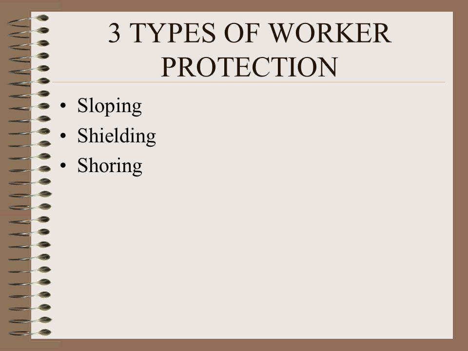 3 TYPES OF WORKER PROTECTION