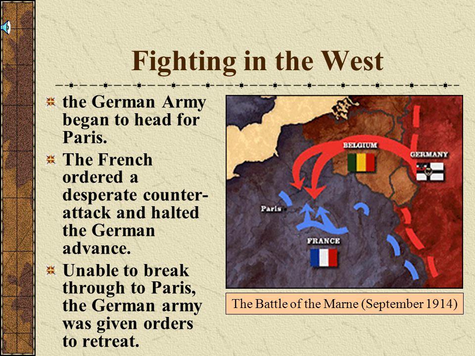 The Battle of the Marne (September 1914)